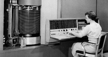 Ibm تحتفل بإطلاق أول كمبيوتر فى العالم