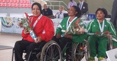 فاطمة عمر تحقق فضية الأثقال البارالمبية بالألعاب الأفريقية