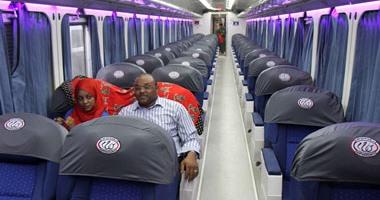 بالصور.. أول قطار VIPفى الصعيد يتحرك من محطة مصر إلى أسوان