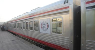 وزارة النقل تستبدل زجاج نوافذ 250 عربة قطار عادية