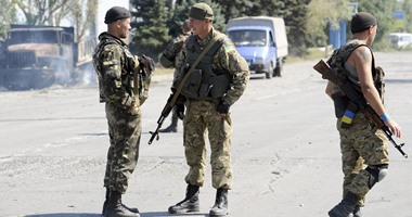 القوات الأوكرانية ترصد 13 خرقا لنظام وقف إطلاق النار فى دونباس
