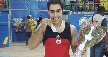 تأهل أبو القاسم إلى نهائيات جهاز الحلق ببطولة كأس العالم للجمباز الفنى