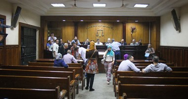 وصول 10 أمناء شرطة محكمة جنوب القاهرة للحكم عليهم بتهمة التجمهر