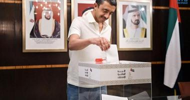 وزير خارجية الإمارات يدلى بصوته فى انتخابات المجلس الاتحادى من نيويورك