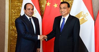 السيسى لرئيس وزراء الصين: نقدر مواقفكم الداعمة لإرادة الشعب المصرى