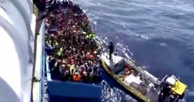 إنقاذ 10100 مهاجر خلال 5 أيام فى البحر المتوسط