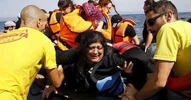 بالصور... اللاجئون السوريون بين الغرق والنجاة ببحر إيجة التركى