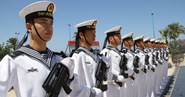 أسطول صينى يتوجه إلى روسيا للمشاركة فى مناورات بحرية مشتركة