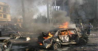 نجاة قائد قوات الأطلسى فى شمال أفغانستان من هجوم انتحارى Bombing1200824144954.jpg