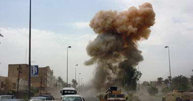 مصدر عراقى: إصابة 4 أشخاص بانفجار عبوة من مخلفات  داعش  فى الفلوجة -