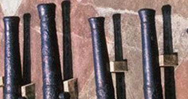 العثور على دانة صاروخية من مخلفات الحروب بالعريش