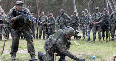 ألمانيا تستأنف مهمة التدريب العسكرية فى العراق