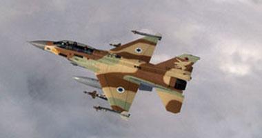 طيران الإحتلال يستهدف مبنى كلية الشرطه منزل قيادى حمساوى بغزه Israeli-military-pla