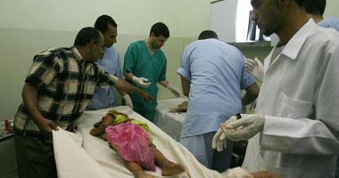 وفاة طفلة سقطت من مرجيحة أثناء لهوها فى العيد بقريتها فى الغربية