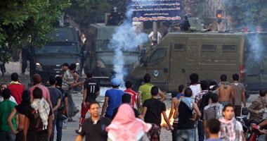 الأمن يطالب المتظاهرين بوقف الاشتباكات