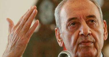 رئيس مجلس النواب اللبنانى نبيه برى