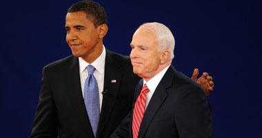 أوباما: جون ماكين كان مخلصا والمواطنة هى التزامنا الوطنى