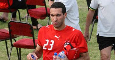 محمد أبو تريكة لاعب الأهلى
