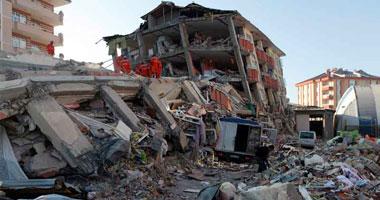 من آثار زلزال مدمر – أرشيفية