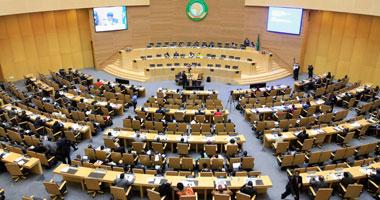 جانب من اجتماع الاتحاد الأفريقى