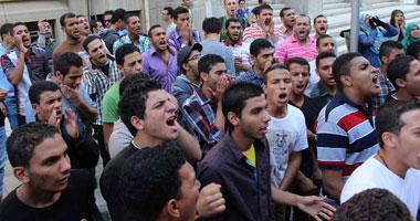 مظاهرة لطلاب الإخوان داخل جامعة سوهاج