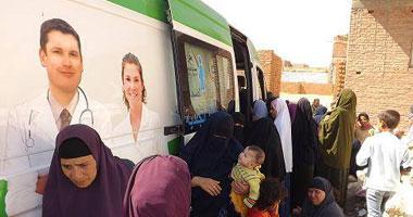 """قافلة طبية لعلاج أهالى قرية """"جارة أم الصغير"""" بمطروح"""