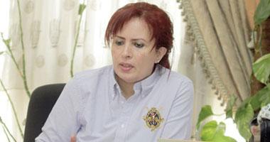 الدكتورة عزة العشماوى الامين العام للمجلس القومى للامومة والطفولة