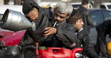 ضبط سائق بحوزته كمية من البنزين لبيعها فى السوق السوداء بمصر القديمة