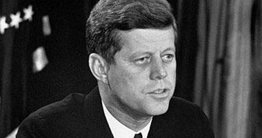 الرئيس الأمريكى الراحل جون كينيدى