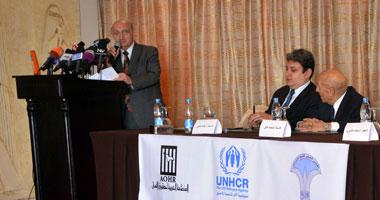 """""""شئون اللاجئين"""" تشكر الحكومة المصرية على احتضان 300 ألف سورى"""