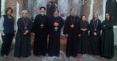 الأنبا بيمن: إعادة بناء وترميم الكنائس تبدأ أول ديسمبر