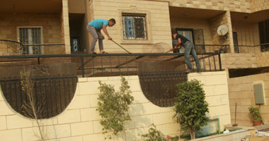 حملات لإزالة مخالفات بناء وإشغالات هضبة الأهرام