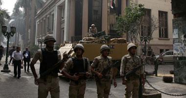 """تواجد أمنى كثيف بمحيط البورصة تحسبا لتظاهر """"الإخوان"""""""