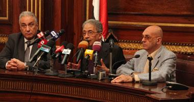 """""""موسى"""" يبحث مع ممثلى النيابة الإدارية أزمة مواد السلطة القضائية"""