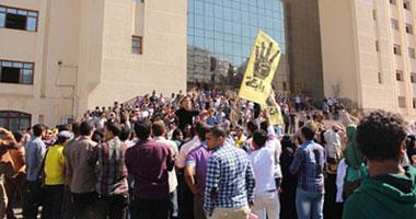 مسيرة لطلاب الإخوان بجامعة كفر الشيخ