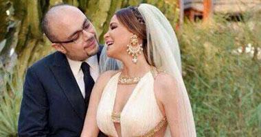 بالصور.. زواج الفنانة كارول سماحة و رجل الأعمال وليد مصطفى فى قبرص