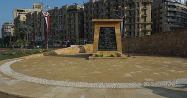 """مشادات بين مصابى الثورة ومواطنين بسبب لوحة أعلى """"النصب"""" بالتحرير"""