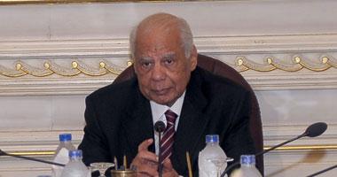 لقاء الببلاوى مع سفير العراق