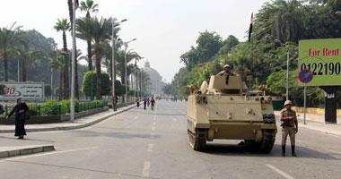 وصول تشكيلات أمنية لمحيط ميدان النهضة لتأمين جامعة القاهرة