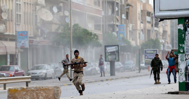 مقتل 7 جنود من الجيش الليبى جراء إنفجار سيارة مفخخة بمدينة بنغازى