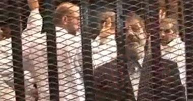 """وصول هيئة دفاع """"الاتحادية"""" سجن برج العرب لزيارة """"مرسى"""" فى محبسه"""
