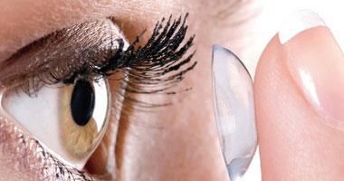 556e0ef6b لو بتستخدمى عدسات لاصقة خلى بالك علشان ماتبقاش طريقك للعمى.. الاستخدام  الطويل يسبب جفاف