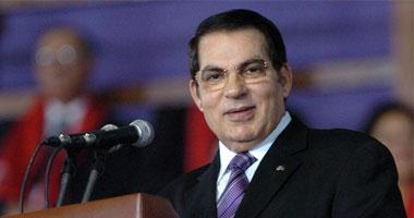 زين العابدين بن على الرئيس التونسى السابق