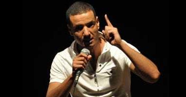 """""""الجخ"""" وعدد من النجوم فى مهرجان لتكريم شهداء الثورة بالإسكندرية S1201115172854"""