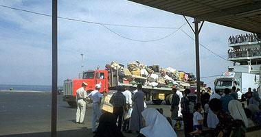 البدو يحاصرون ميناء نويبع بالأسلحة للإفراج عن شحنة مخدرات