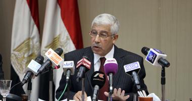 المرسى السيد حجازى وزير المالية
