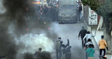 """اشتباكات عنيفة بين الأمن وطلاب الإخوان بـ""""عين شمس"""""""