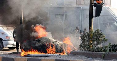 اشتباكات بالغاز والحجارة بين الأمن وطلاب الإخوان أمام جامعة القاهرة