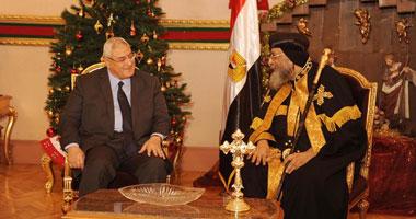 اول زيارة لرئيس مصرى للكاتدرائية المرقسية بعد تدشينها من ايام الزعيم جمال عبد الناصر S120145114420
