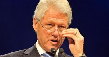 الرئيس الأمريكى السابق بيل كلينتون